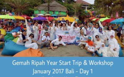 Gemah Ripah Year Start Trip & Workshop Januari 2017 Bali – Day 1