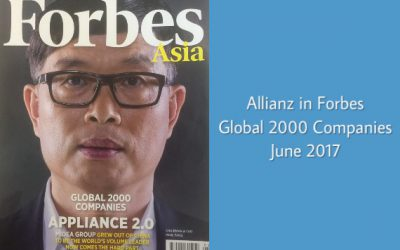 Allianz in Forbes Global 2000 Companies, June 2017