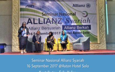 Seminar Nasional Allianz Syariah @Aston Hotel Solo