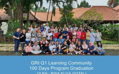 GRI Q1 Learning Community 100 Days Program Graduation