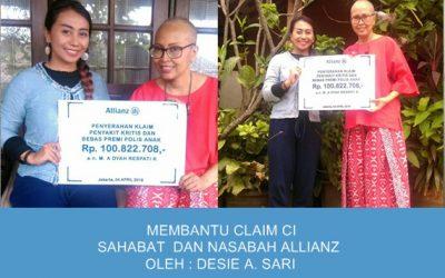 Membantu Claim CI Sahabat Sekaligus Nasabah Allianz